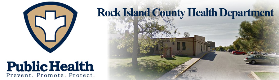 Rock Island County Health Department banner image